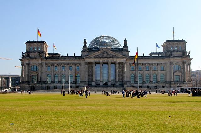 Palazzo del Reichstag - Esterno - Berlino