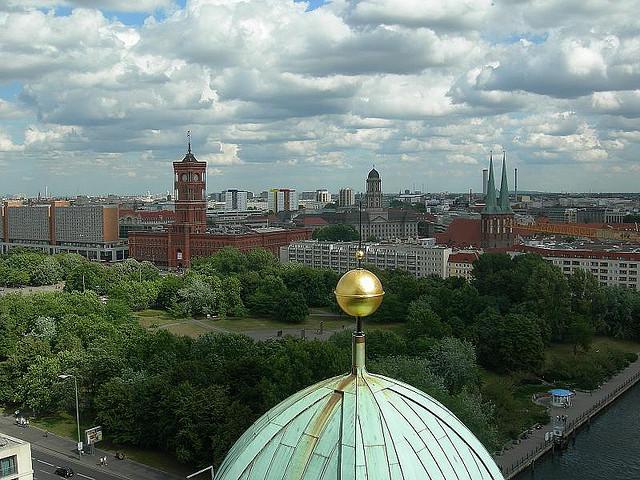 Panorama Berlino dalla cupola