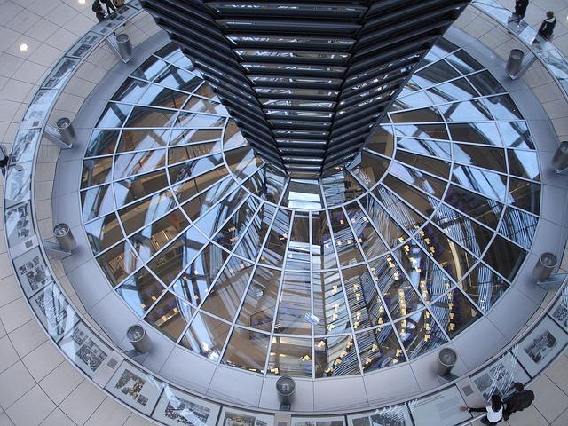 Palazzo del Reichstag - Interno - Berlino