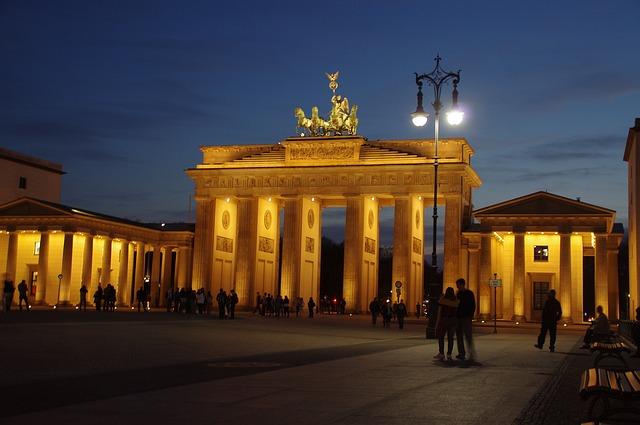 Porta di Brandeburgo Berlino Germania