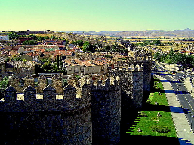 the-walls-of-avila-avila-spain