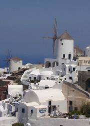 i mulini di Santorini