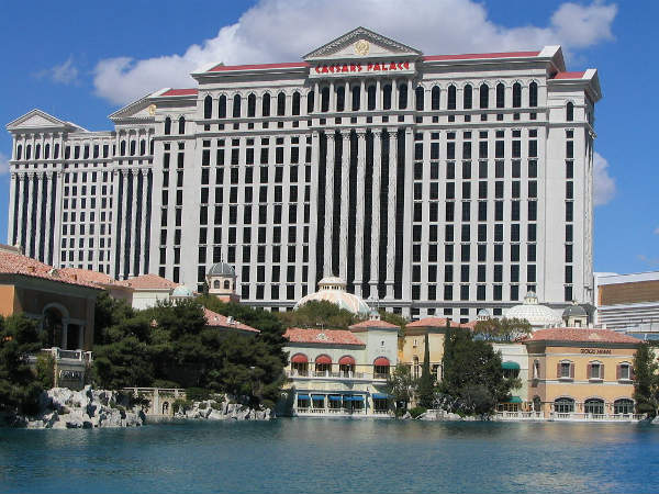 Caesars Palace - Lago Bellagio