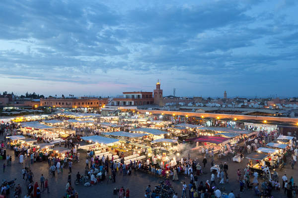 Djemaa el Fna, Marrakech