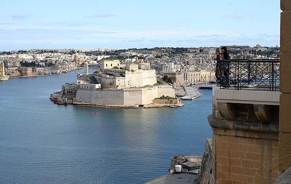 Malta vista da La valletta