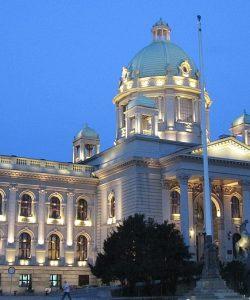 Palazzo del Parlamento serbo