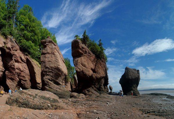 Baia di Fundy Canada