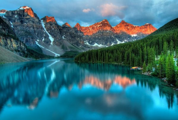 Lago Moraine Canada