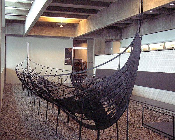 Nave vichinga nel museo