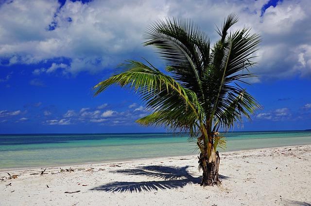 Cuba Spiaggia Mare Ottobre