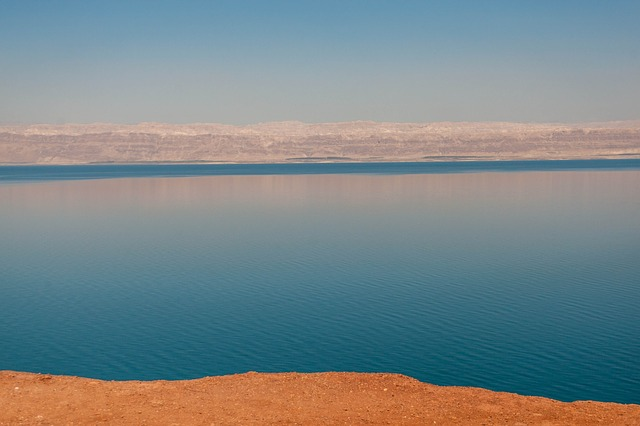 Mar Morto Giordania Ottobre