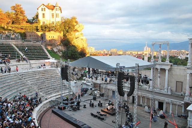 Plovdiv Antico Teatro Stadio di Filippopoli