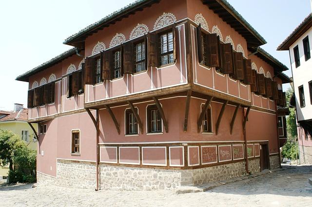 Plovdiv citta vecchia bulgaria