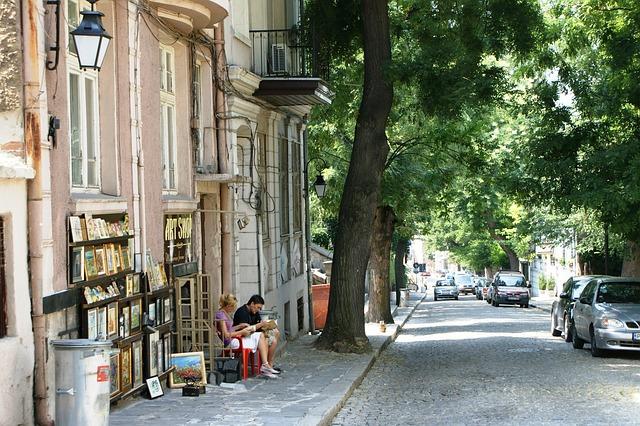 Plovdiv città vecchia Bulgaria