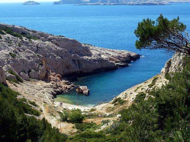 Marsiglia cala Parco Naturale dei Calanchi
