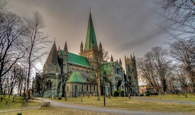 Cattedrale di Nidaros Trondheim Norvegia