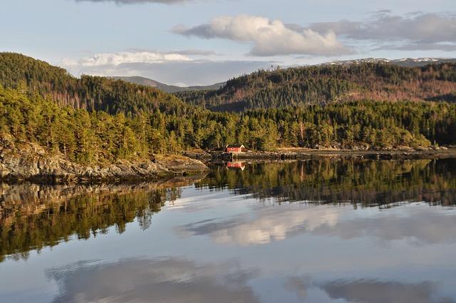 Fiordo di Trondheim Trondheim Norvegia