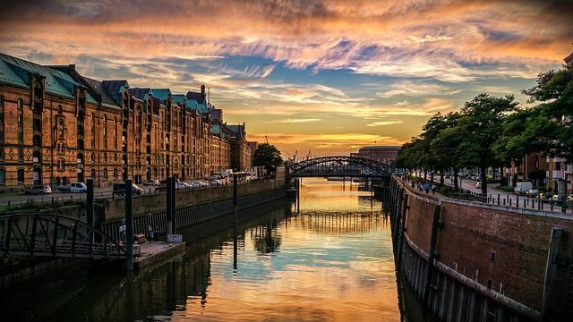 Amburgo citta canale