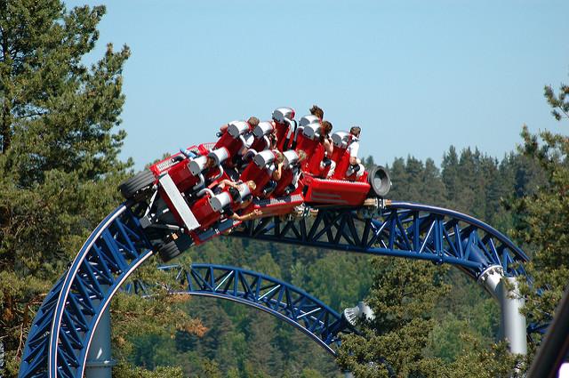 Tusenfryd Amusement Park a Oslo in Norvegia