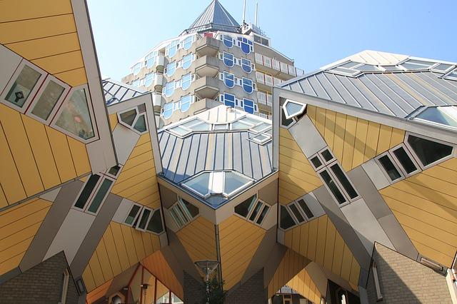 Rotterdam case cubiche Olanda