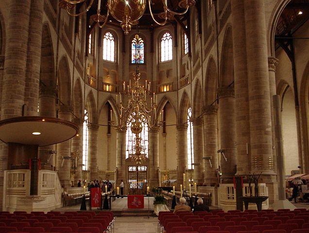 Rotterdam chiesa St Laurens Olanda