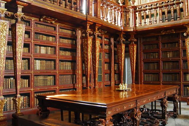 Biblioteca Joanina Coimbra Portogallo