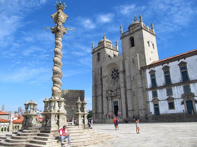 Cattedrale di Porto in Portogallo