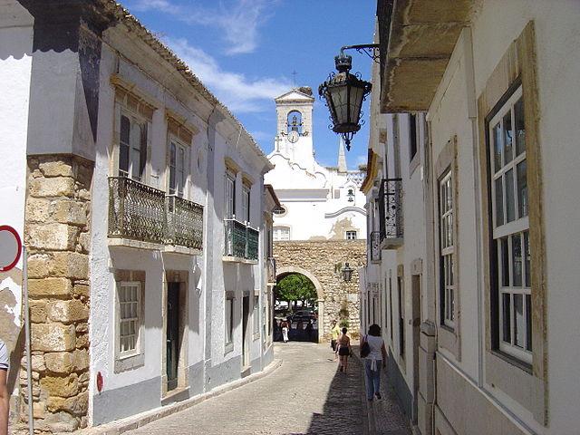 Città vecchia Faro Portogallo