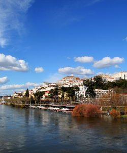 Coimbra fiume Portogallo
