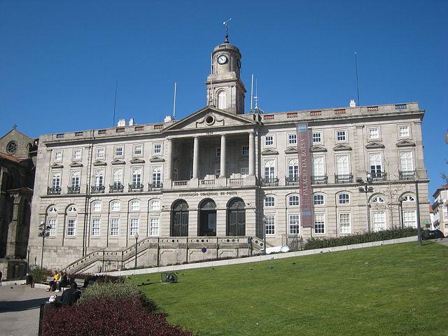 Palazzo de bolsa a Porto in Portogallo