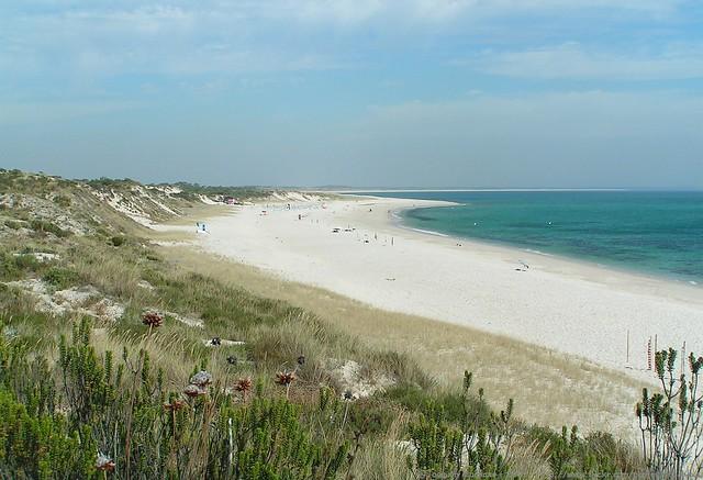 Praia de Troia Setubal Portogallo
