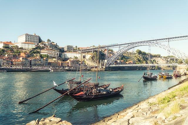 Ponte Dom Luis I Porto Portogallo
