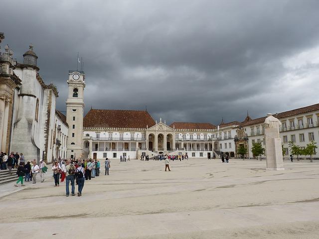Università Coimbra Portogallo