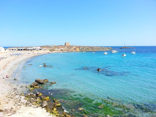 Isola di Tabarca ad Alicante Spagna