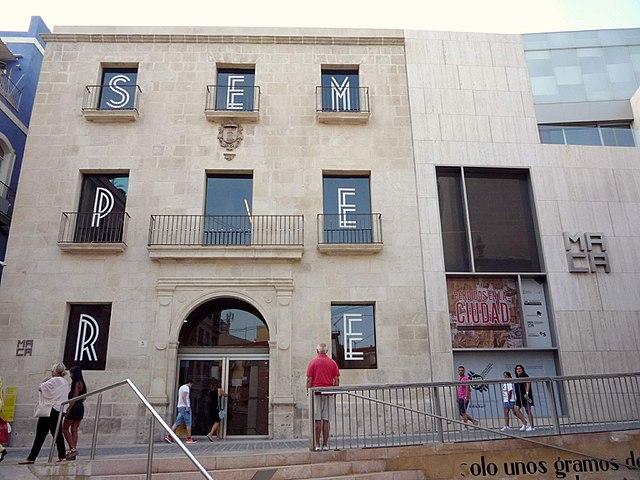 Museo di arte contemporanea ad Alicante in Spagna