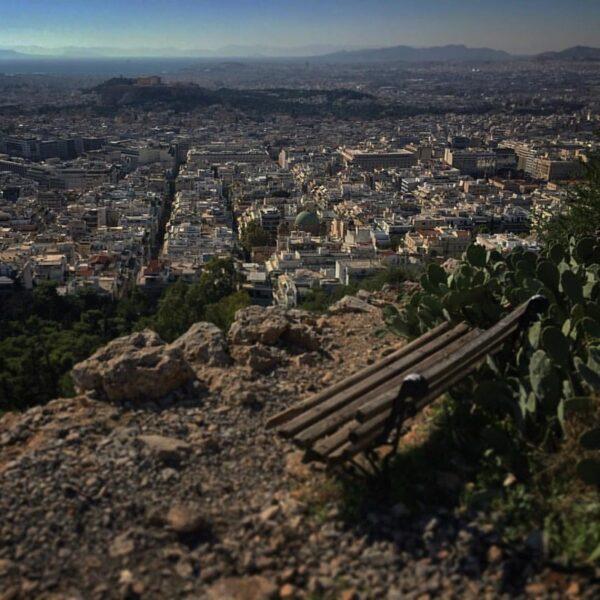 Collina Licabetto Atene
