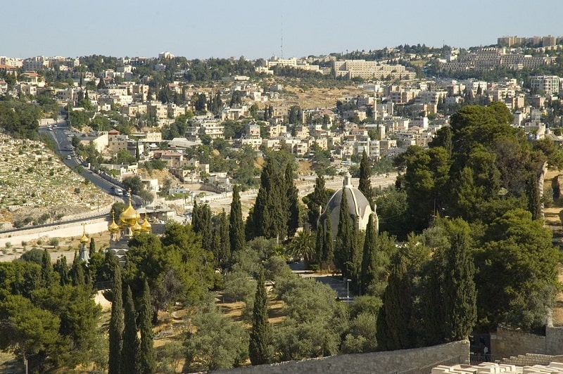 Monte Degli Ulivi Gerusalemme