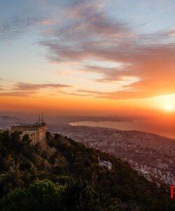 Sunset Over Beirut