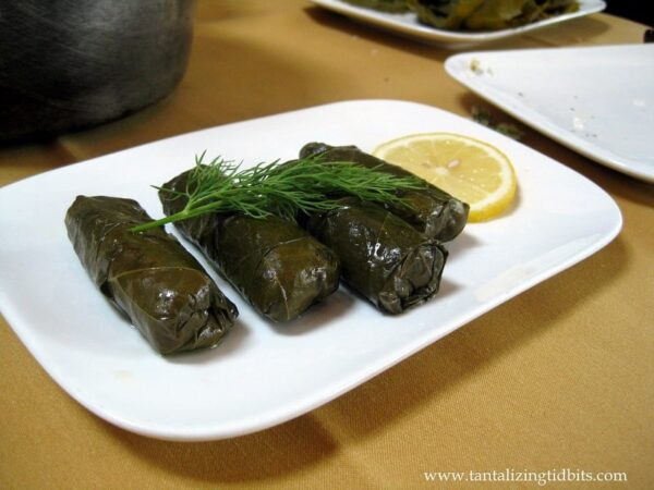Cooked Dolmas