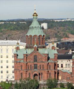 La cathédrale Uspenski (Helsinki)